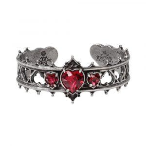 A78 Red Crystal Elizabethan Bracelet