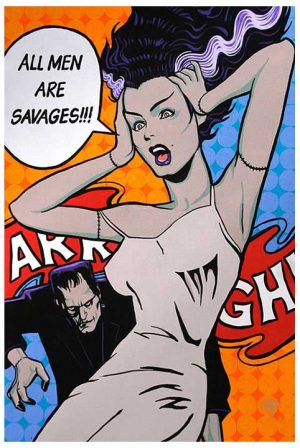 All Men Are Savages - Fine Art Print by Mark Bell