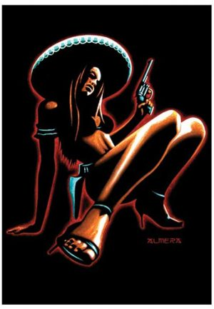 Chica Peligrosa - Fine Art Print