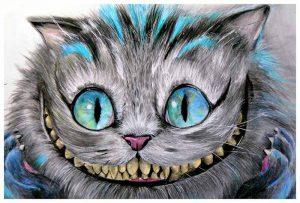 Cheshire Cat - Fine Art Print Manuela Lai