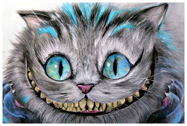 Cheshire Cat – Fine Art Print Manuela Lai 1