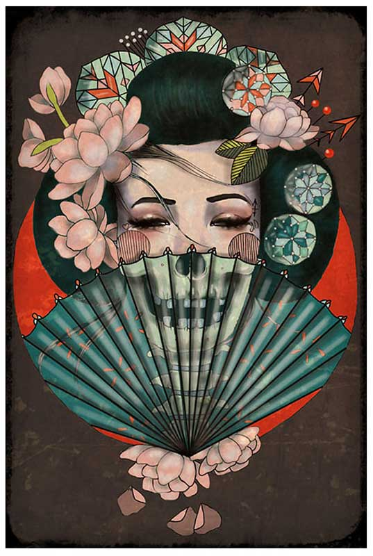 Death Becomes Her – Fine Art Print 1