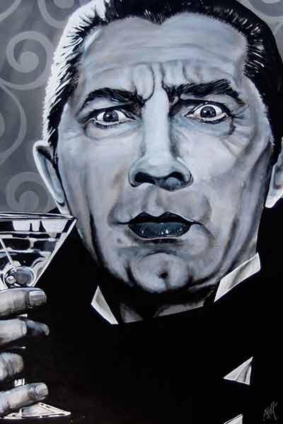I Never Drink Wine – Fine Art Print by Mark Bell 1