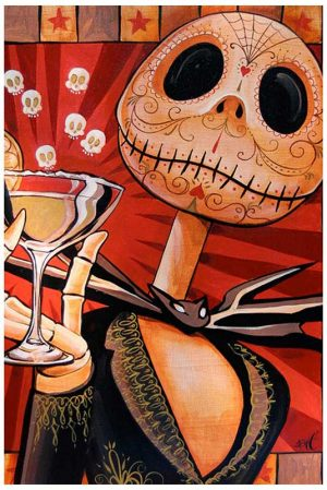 Jack Celebrates the Dead - Fine Art Print