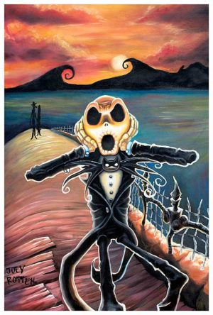 Jack Screams The Scream - Fine Art Print Joey Rotten