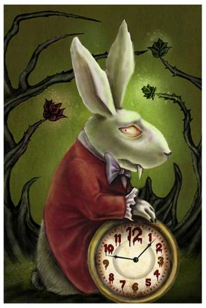 Levin's White Rabbit - Fine Art Print