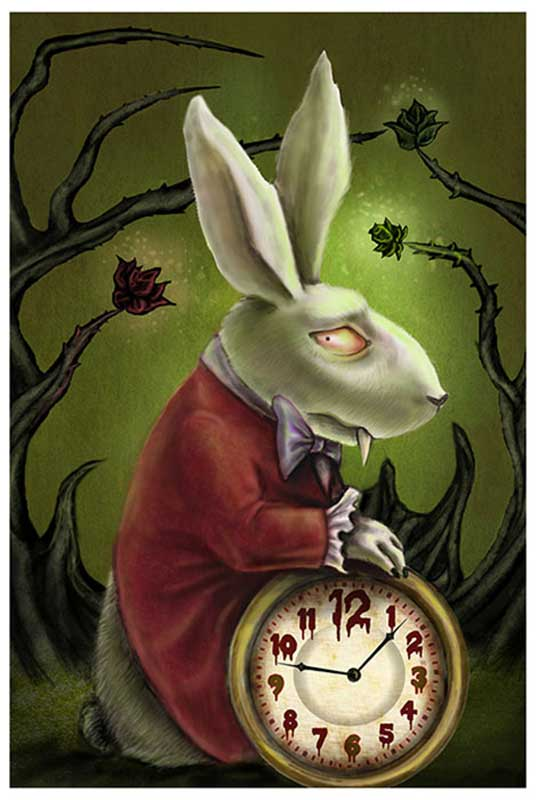 Levin's White Rabbit – Fine Art Print 1