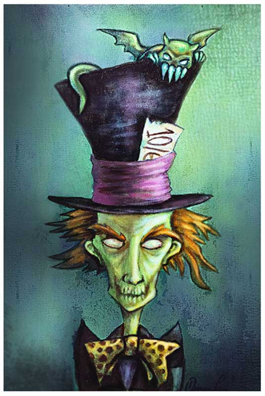 Mad Hatter – Fine Art Print 1