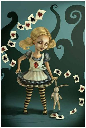 Miss Wonderland - Fine Art Print