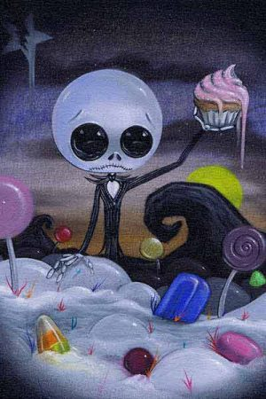 Nightmare in Candyland - Fine Art Print