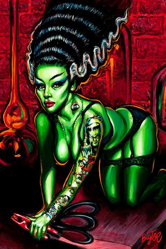 Novia del Monstro – Fine Art Print 1