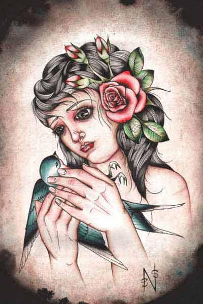 Orithia's Bird – Fine Art Print 1