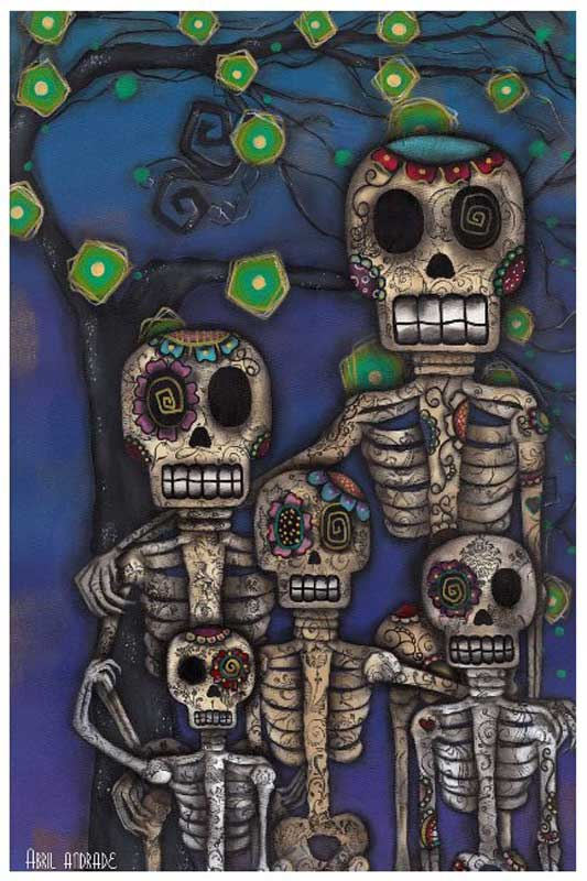 Our Family – Fine Art Print by Abril Andrade 1