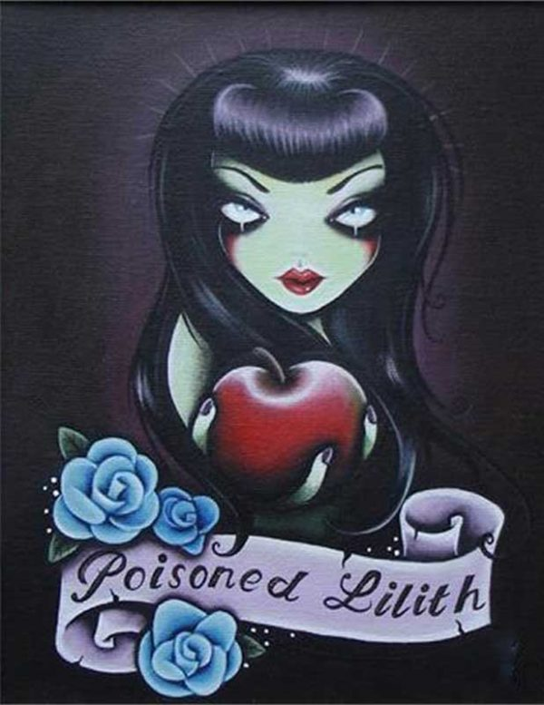 Poisoned Lilith – Fine Art Print 1