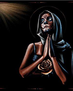 Prayer Day of the Dead - Fine Art Print Marco Almera