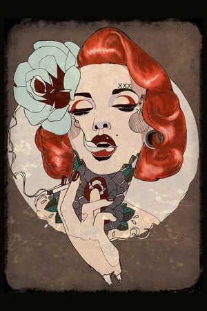 Smoking Hot - Fine Art Print