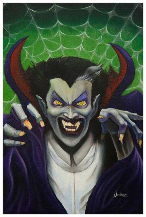 Dracula The Count - Fine Art Print Phil Graves