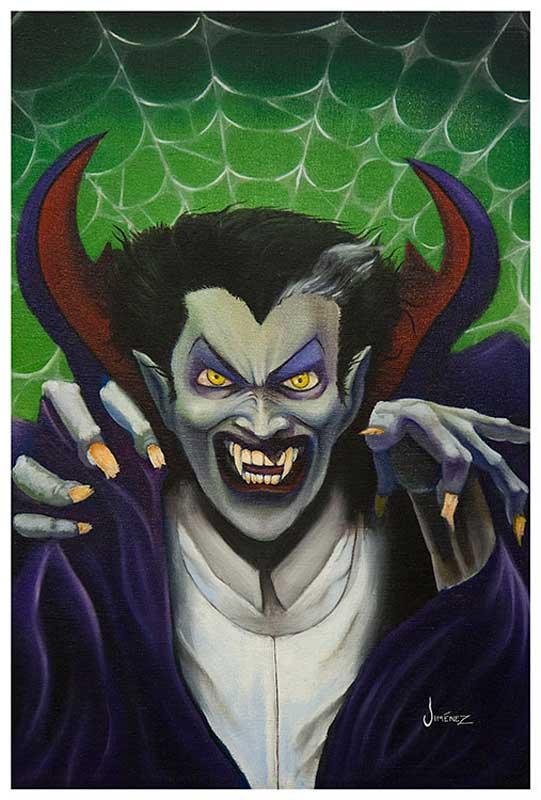 Dracula The Count – Fine Art Print Phil Graves 1