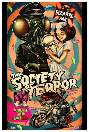 The Society of Terror Bizarre Zone - Fine Art Print Kurono