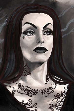 Vampira - Fine Art Print by Thea Fear