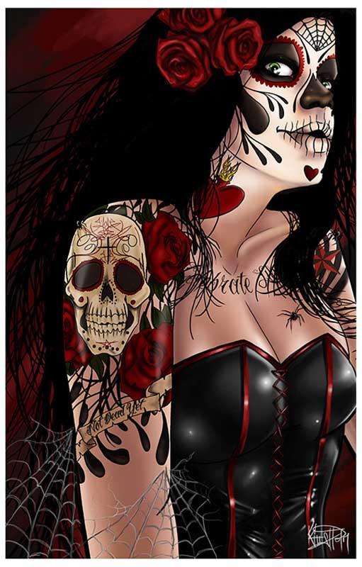 Dia de los Muertos – Fine Art Print 1