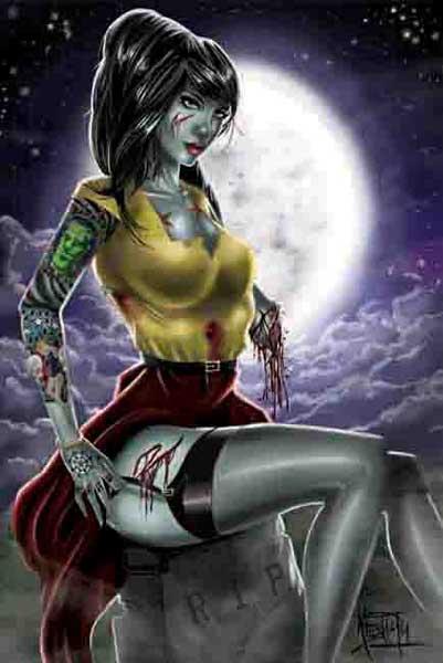 Zombie Life – Fine Art Print 1